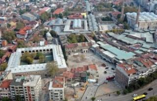 Bursa'da tarihi doku ortaya çıkıyor