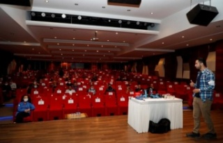 Bursa İnegöl Belediyesi yüksekte çalışma eğitimi...