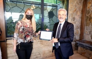 Bursa Nilüfer Belediye Başkanı Erdem, iç denetçilerle...