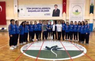 Bursa Osmangazi Hentbol Takımı altyapıdan 2. Lig'e...