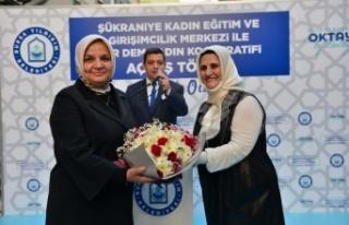Bursa Yıldırım'da bir kadın kooperatifi daha...