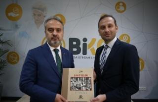 Büyükşehir Belediye Başkanı Aktaş, AA Bursa...