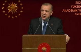 Cumhurbaşkanı Erdoğan'dan akademik mesaj:...