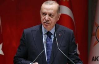 """Cumhurbaşkanı Erdoğan,"""" Önümüzdeki yıl..."""