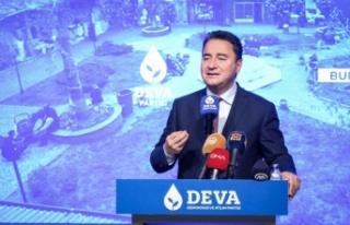 DEVA Partisi Genel Başkanı Babacan, partisinin Osmangazi...