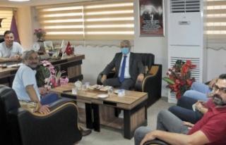 Didim Kaymakamı Yiğit'ten Esnaf Odasına Ziyaret