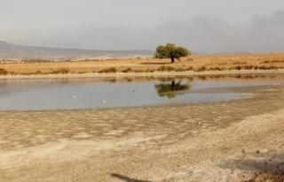 Enez'de kuruyan lagün göllerine su verildi