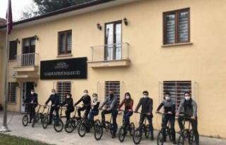 "Gaziantep ""Bisiklet Dostu İşveren"" unvanı..."
