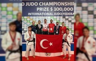 Gençler Dünya Judo Şampiyonası'nda iki madalya