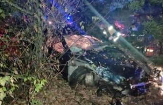 Trafik kazasında Çin uyruklu 1 kişi öldü, 4 kişi...