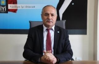 """İYİ Partili Demir: """"Edirne'de dolu yağışı..."""