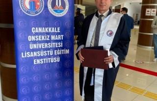 İYİ Partili Salih Işık, Yüksek Lisans Eğitimini...