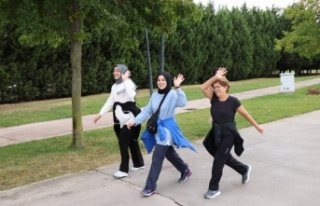 İzmit'te yürüyüş etkinliği