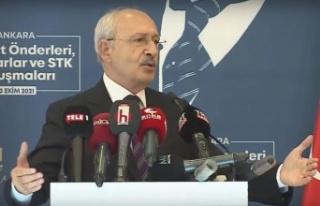 """Kılıçdaroğlu: """"Türkiye çoklu organ yetmezliğinden..."""