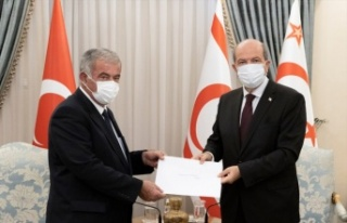 KKTC Cumhurbaşkanı Tatar, Meclis Başkanı Sennaroğlu...