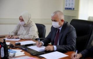 Kocaeli Büyükşehir Belediyesi encümen toplantısı...