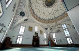 Kocaeli'de inşa edilen Adalet Camisi ibadete açıldı