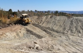 Manisa'da Demirci HİS Göleti yapımı