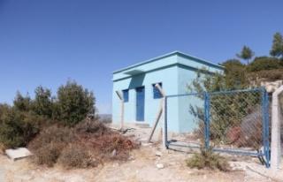Manisa Kepenekli'de içme suyu deposu yenilendi