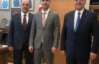 MHP Kayseri'den genel merkeze ziyaret