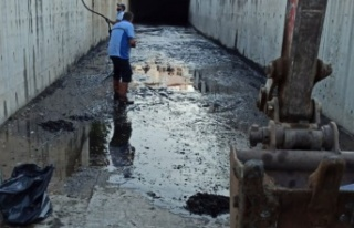 Muğla Karadere'de 20 ton atık