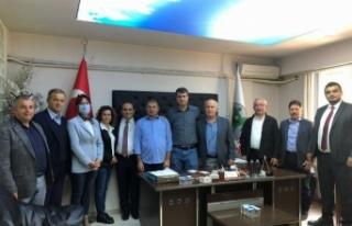 Sakarya'da CHP STK'ları ziyaret etti