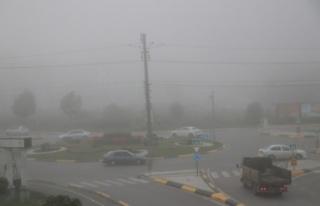 Sakarya'da yoğun sis etkili oluyor