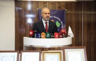 Türkiye Sağlıklı Kentler Birliğinin hedefi