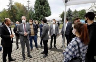 Üniversiteli öğrencilere Bursa İnegöl turu