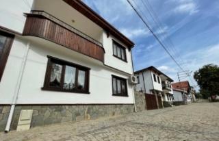 Yalova'nın tarihi Kafkas köyünde meydan Osmanlı...