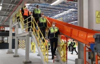 Yurtiçi Kargo, yeni otomasyon merkezinin açılışını...