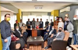Zonguldak Vali Tutulmaz'ın BATİYAC ziyaretinde...