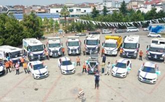 Çayırova'ya 2 yılda 8 milyon TL değerinde 30 araç alındı