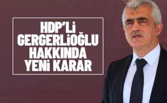 AYM kararına uyan yerel mahkeme, HDP'li Gergerlioğlu hakkında tahliye kararı verdi