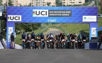 Uluslararası MTB Cup Maraton Serisi Bisiklet Yarışları Sakarya'da yapıldı