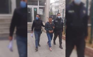 Dükkandan çanta ve para çalan hırsızlık zanlısı tutuklandı