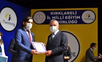 e-Twinning Projesi ödül töreni düzenlendi