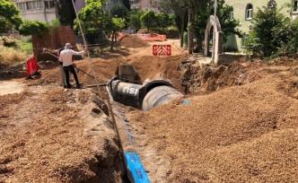 Çayırova'da altyapı deplaseleri yapılıyor