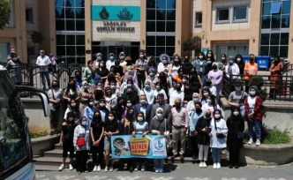 80 kız öğrenci Kefken Kampı'na gitti