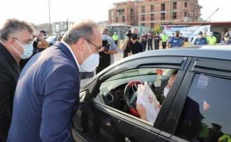 Kocaeli Valisi Yavuz, bayram öncesi trafik denetimine katıldı: