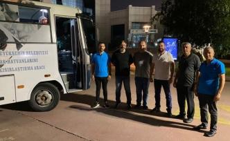 Kocaeli'den yangın bölgelerine 'mobil klinik'