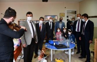 Bursa İznik'te şenlikli TÜBİTAK projeleri