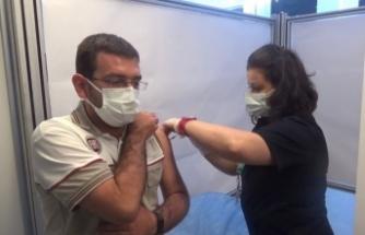 OSB'de çalışan 57 bin 860 kişi aşı oldu