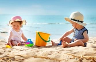 Çocuklarda güneş çarpmasına dikkat!