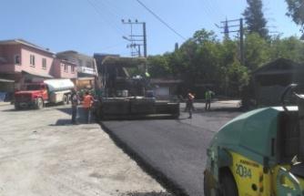 Dilovası Tepecik Köyü'nde asfalt serimi yapıldı