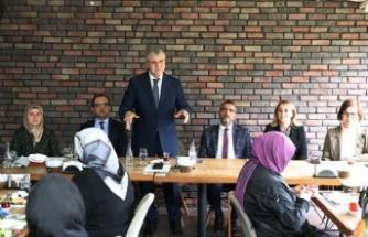 AK Parti Kadın Kolları Bölge Koordinasyon Toplantısı yapıldı