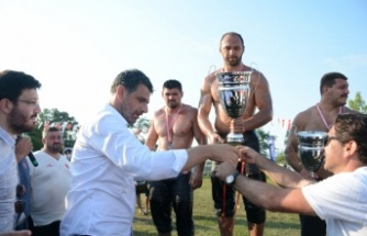 15. Geleneksel Hergeleci İbrahim Yağlı Güreşleri'nde başpehlivan Ali Gürbüz oldu
