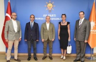 AK Parti Bursa'dan İGF'ye tam destek