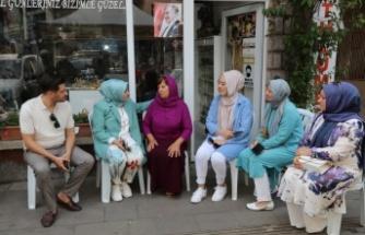 AK Parti'li Atabek'ten kazada ölen CHP İlçe Gençlik Kolları Başkanı'nın ailesine taziye ziyareti