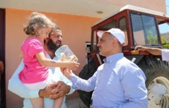 Başkan Söğüt Köylere Çıkarma Yaptı